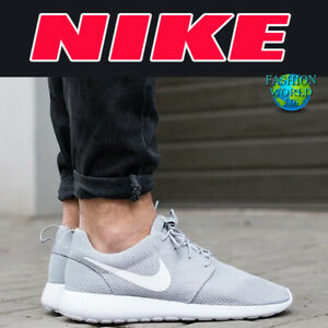 2bfdfda4c725 Nike Men s Size 13 Roshe One Running Sneakers Wolf Grey 511881-023 ...