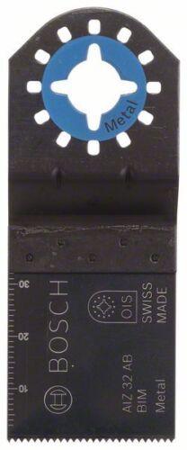 Metal 5er-Pack 32 x 30 mm Bosch Tauchsägeblatt BIM AIZ 32 AB