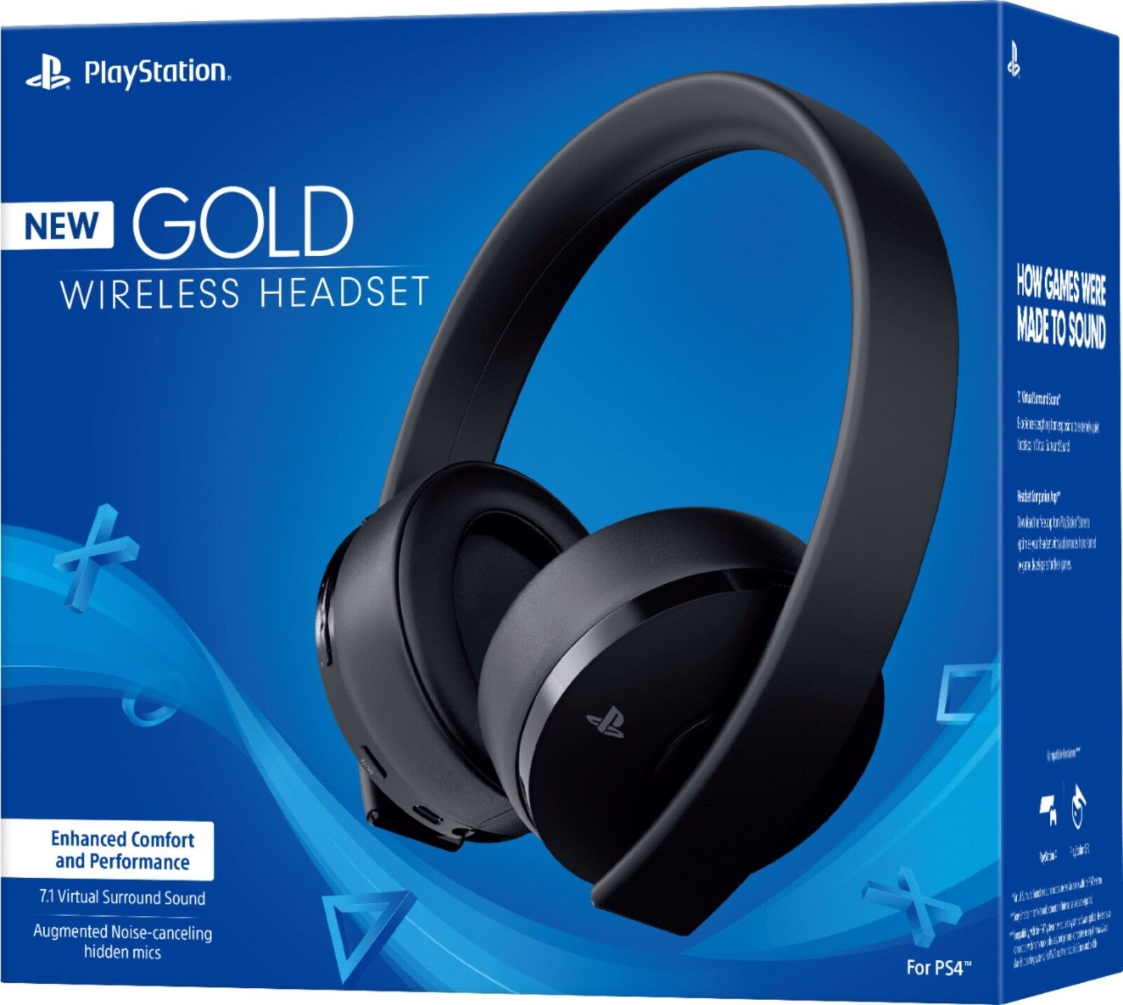 PS4 Headsets: PlayStation Gold