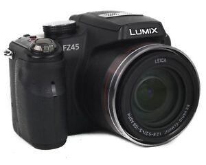 panasonic lumix dmc fz45 14 1mp digital camera black 411378203335 rh ebay co uk lumix dmc fz30 manual download lumix dmc fz50 manual