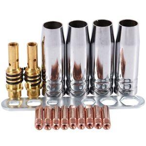 5X-17Pcs-Set-15Ak-Mig-Mag-Welding-Nozzle-Contact-Tips-0-8X25Mm-M6-Gas-Conne1X1