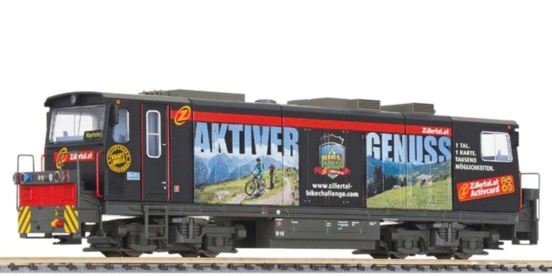 Hs Liliput l142108 diesellok d15  nero Beauty  de la zillertalbahn, Hoe