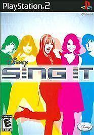 Video Game PS2 Disney Sing It Hannah Montana Miley Cyrus GAM