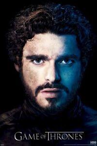 GAME-OF-THRONES-ROBB-PORTRAIT-S3-24x36-TV-POSTER-Stark-Richard-Madden-HBO