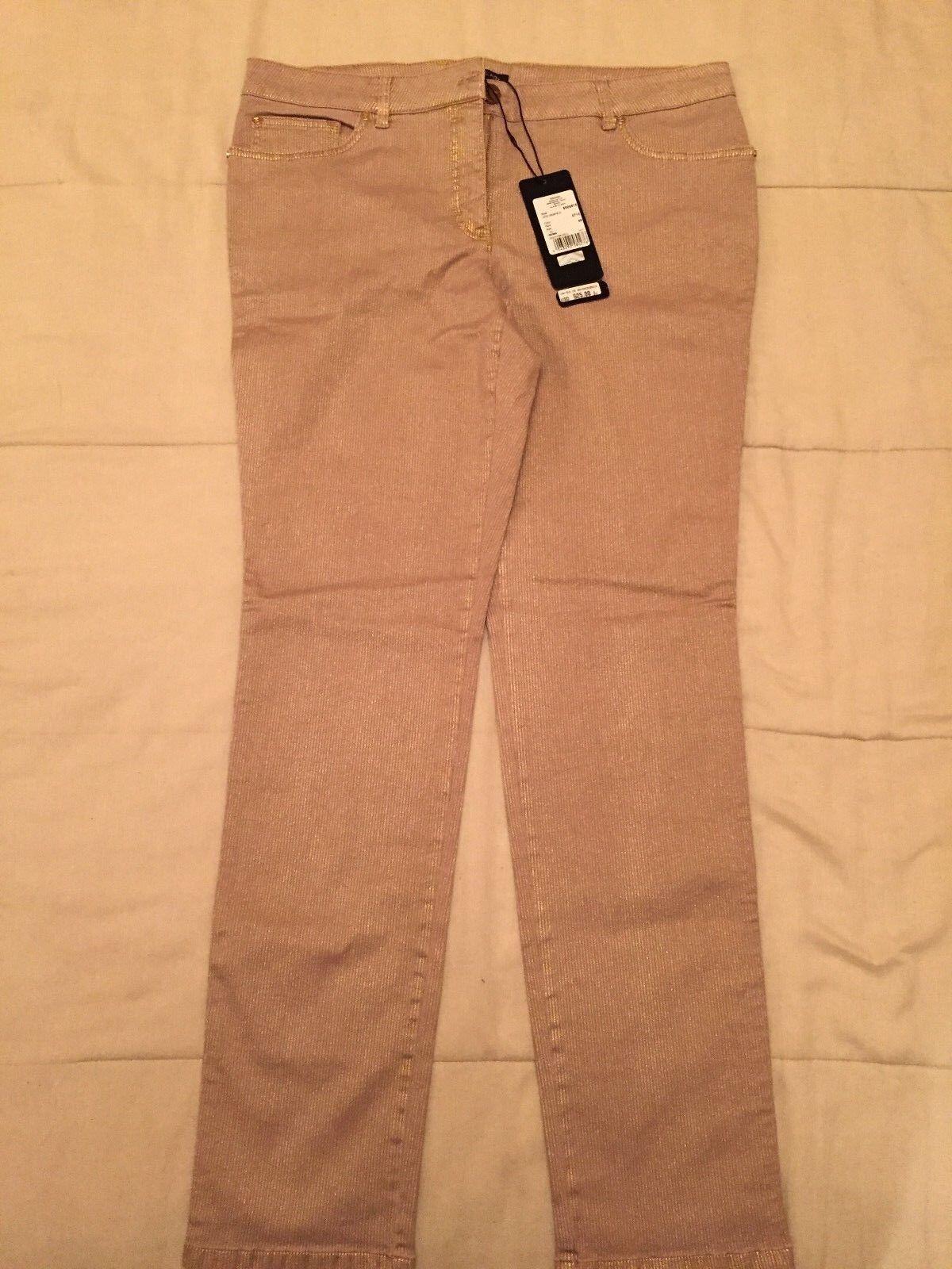 nuevo    Escada oro Jeans, Talla 46.  estar en gran demanda