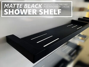 Image Is Loading Square Matte Black Metal Solid Br Shower Tray