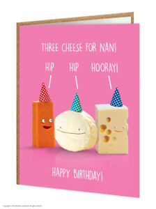 Image Is Loading Nan Nanny Birthday Card Funny Comedy Humour Novelty