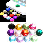 10x Diamond Bling Home Button Stickers for Apple iPod iPhone 3GS 4G 4S 5 5G