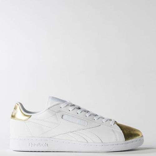 Reebok Men BS6475 classic NPC UK casual Shoes white gold silver