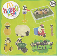 McDonald's Shaun The Sheep Happy Meal Toys
