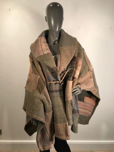 Poncho Cape Neu cashmere Wolle Ralph Lauren 5610qw8