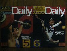 2-1996 Sports Illustrated Olympic Daily (5 & 6)NAIM SULEYMANOGLU/DOMINIQUE DAWES