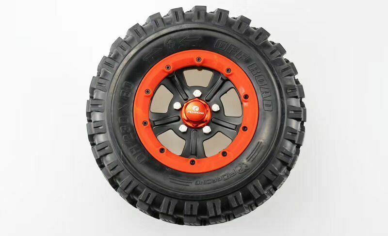 FID widened  super cool rueda tires tyre + rueda nuts 23080mm for Losi 5ive-t  spedizione veloce a te