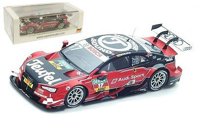 Spark SG296 Audi RS5 #17 DTM 2016 - Miguel Molina 1/43 Scale