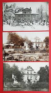 3-x-Foto-AK-BISCHOFSWERDA-bei-Dresden-Wohnhaus-Villa-15867
