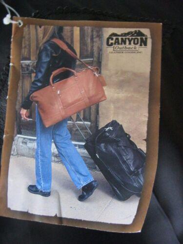 Canyon Tradition Outback Etichetta Re Corona Da Nuova Pelle Con Di Uomo Raro zwnUq8