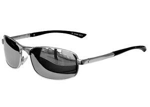 Matrix Sonnenbrille Chrom Silber Verspiegelt Sportbrille Motorradbrille Sport Brille (chrom Silber) wEx0xZ