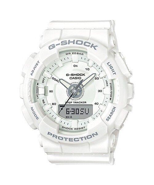 Casio G-shock Women s Quartz Resin Band 45mm Watch Gmas130-7a for sale  online  e42cdba9d8