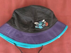 24be3e31abe NBA Charlotte Hornets HARDWOOD CLASSIC Bucket Hat ( L ) Old School ...