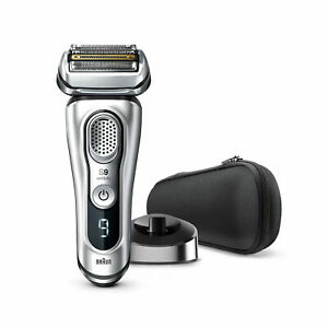 Braun-Series-9-9330s-Wet-amp-Dry-shaver-with-charging-stand-silver