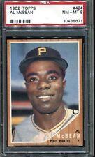 1962 Topps McBean #424 Baseball Card