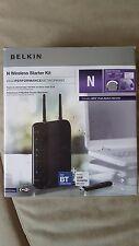 Belkin F5Z0103uk Wireless Starter Kit ADSL2/2+ Modem Router + USB N Wifi Adaptor