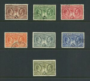 A447-Cayman-Islands-1932-Assembly-SHORT-SET-7v-used