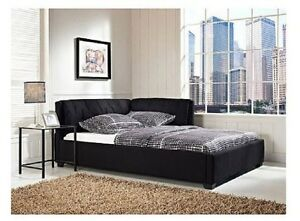 image is loading adult daybed full size bed frame with headboard - Full Size Bed Frame With Headboard