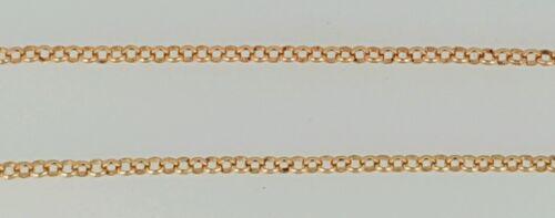 Collana 18 18 24 oro oro 22 16 E 20 massiccio rosa massiccio in 375 in kt BxdqSS6
