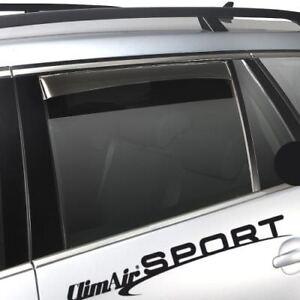 ClimAir Windabweiser vorne /& hinten mit ABE für BMW X6 X71 SUV 5-türer
