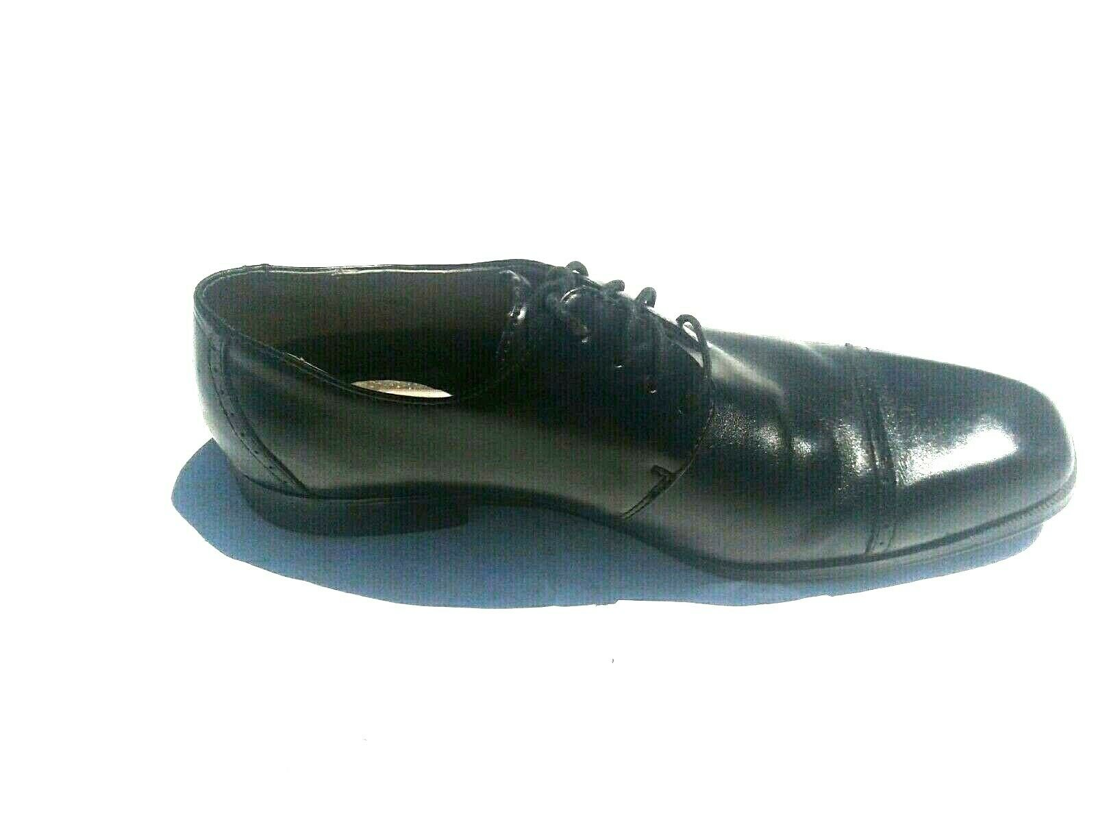 AMPUTEE Joseph Abboud Size 8.5M Black Leather Oxford Lace Up Left Shoe ONLY