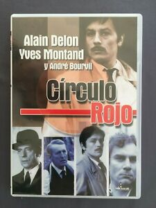 DVD-CIRCULO-ROJO-Alain-Delon-Yves-Montand-Andre-Bourvil-JEAN-PIERRE-MELVILLE