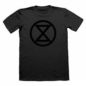 Extinction-rebellion-T-Shirt-Protestation-T-shirt-noir-Anonyme-Vegan-T-Shirt