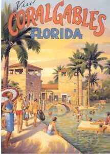 Coral-Gables-amp-Palm-Beach-Florida-travel-fine-art-prints-set-of-2-Kerne-Erickson