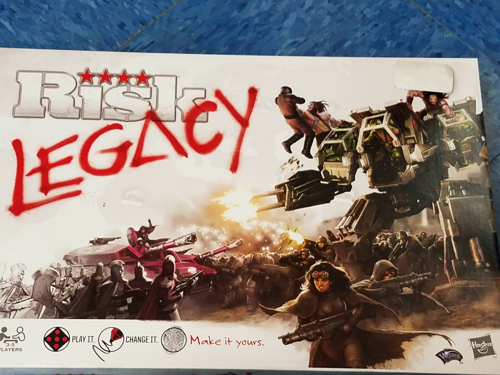 Risk Legacy - Awesome Games War Board Game New