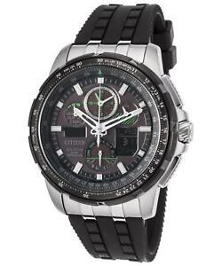 Citizen-Eco-Drive-Men-039-s-JY8051-08E-Skyhawk-A-T-Black-Rubber-Strap-47mm-Watch
