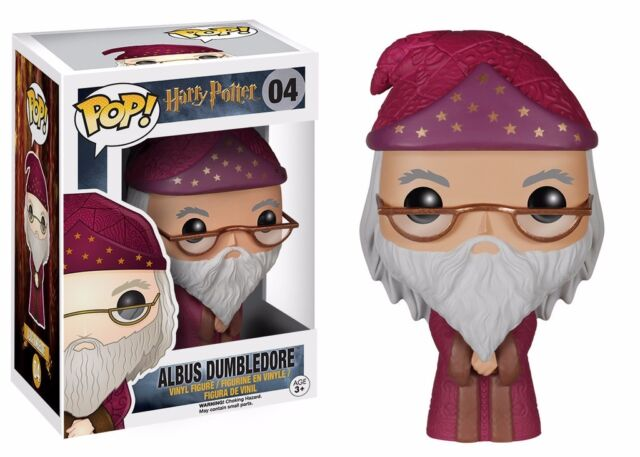 Funko Pop Harry Potter Albus Silente Figura in vinile 04