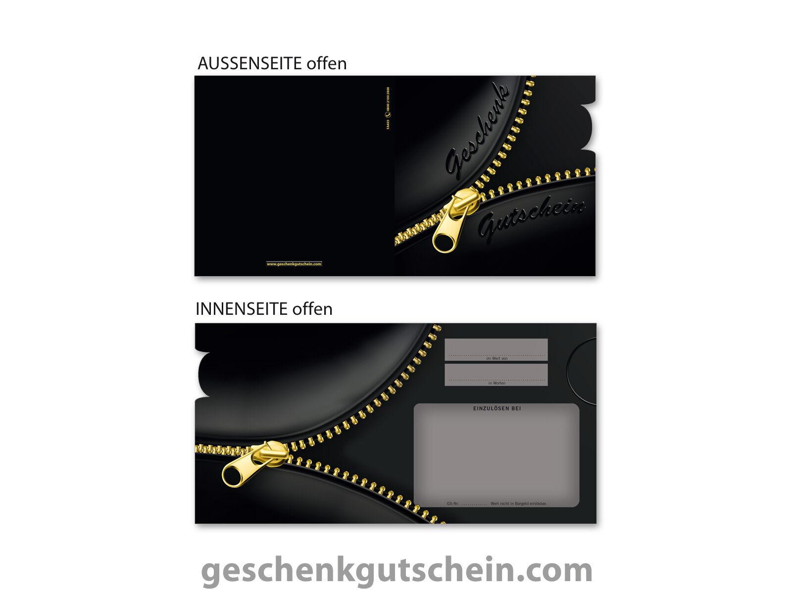 Quadratische 4Emotion Gutscheine für Mode, Bekleidung, Boutiquen FA403