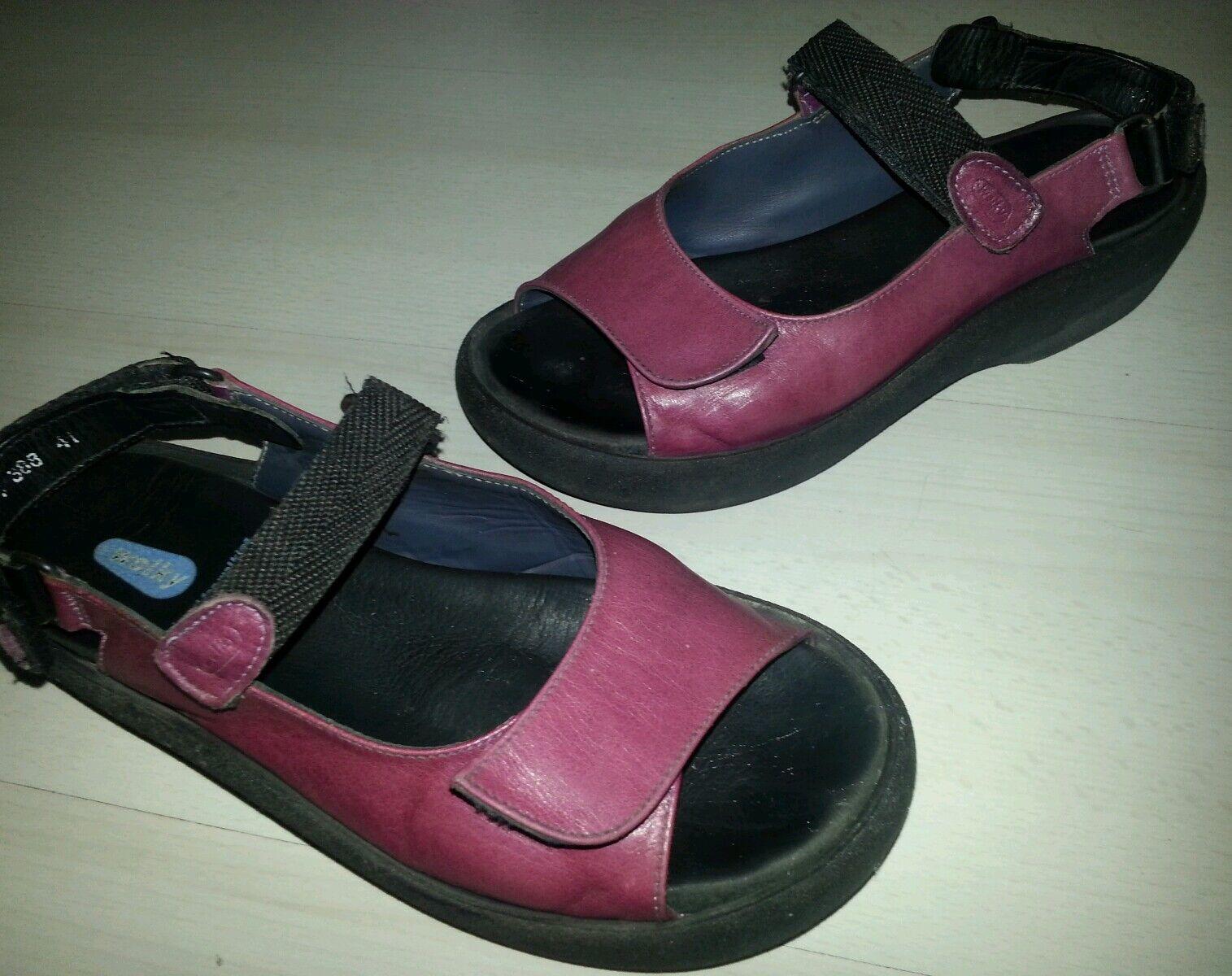 Wolky Damen Sandale Sandale Sandale Klettverschluss Lagenlook gr. 41 top e9a6d8