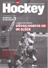 Deutsche Hockey Zeitung Heft 4 2013 vom 31. Januar 2013