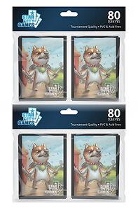 160-ct-Star-City-Games-Bonechewer-Giant-Standard-Size-Card-Sleeves-MTG-TCG