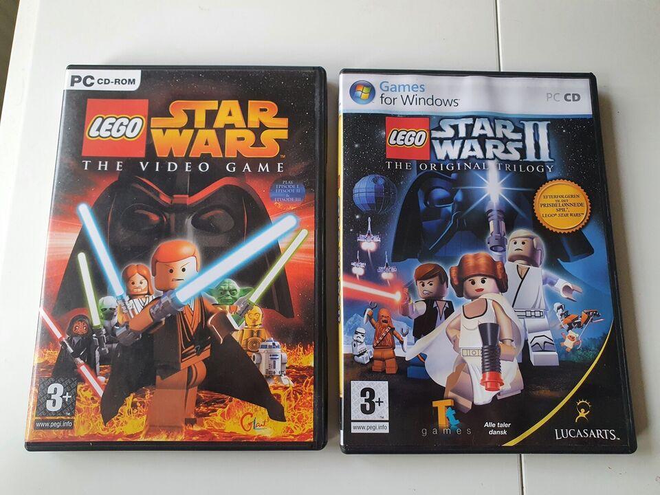 Star wars, Lego, til pc