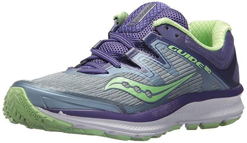 Saucony Donna  Guide ISO ISO ISO Running scarpe, Fog viola, 8 W US 2785d1
