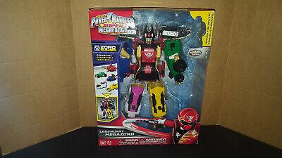 Bandai Power Rangers ULTIMATE Legendary megazord complet avec Red Ranger Key