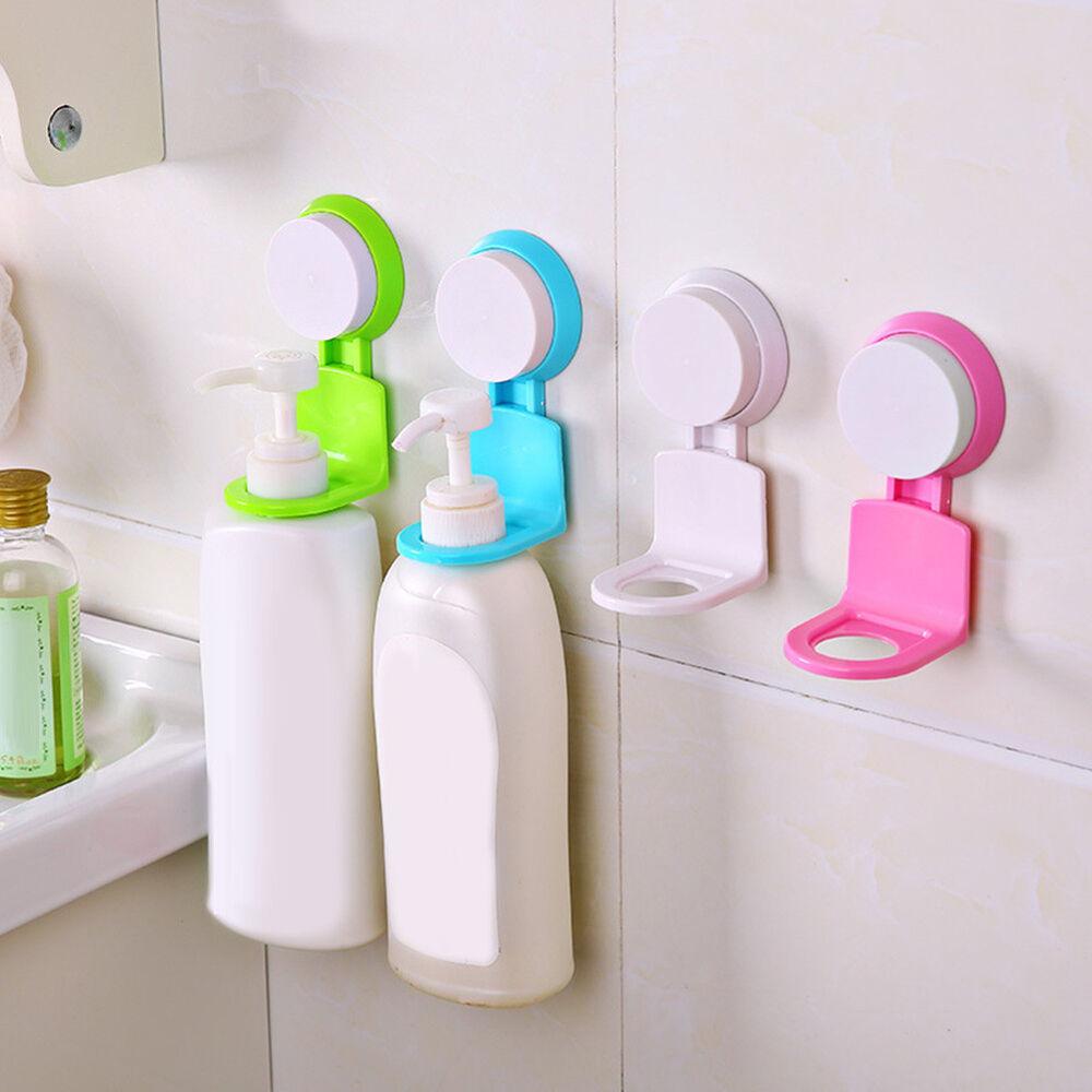Eg _ Plastik Wand Saugnapf Hängender Haken Duschgel Shampoo Halter Gestell Rost