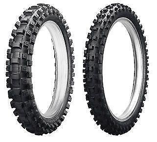 Dunlop Geomax MX52 80//100-21 Front /& 110//90-19 Rear Tire SET 95-07 Honda CR250R