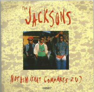 The Jacksons - Nothin' (That Compares 2 U) 1989 Epic CD single