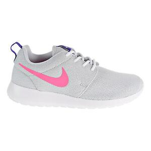 recoger Consejos Variedad  Nike Roshe One Women's Shoes Pure Platinum-Laser Pink 844994-007 | eBay