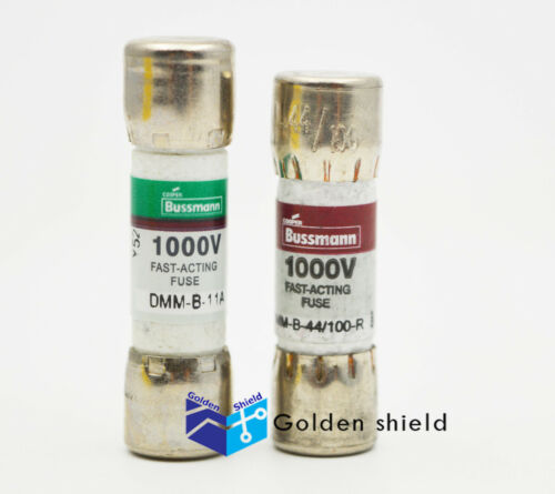 DMM-B-44//100 44mA 1000VAC//DC BUSS FUSE FOR FLUKE MULTIMETER BUSSMANN DMM-B-11A
