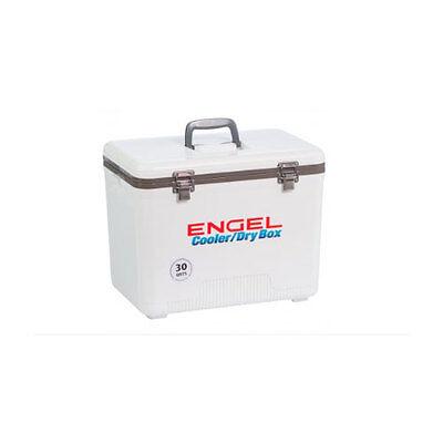 Engel 30 QT. Drybox and Cooler - UC30 - White